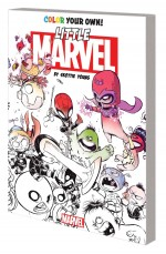 Color Your Own Little Marvel Skottie Young